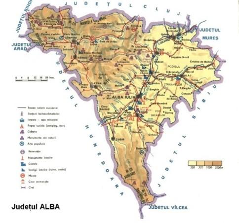 Alba Map