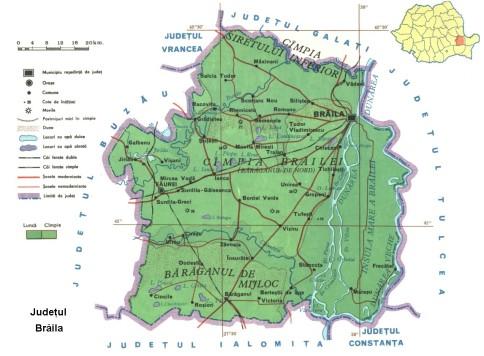 Braila Map
