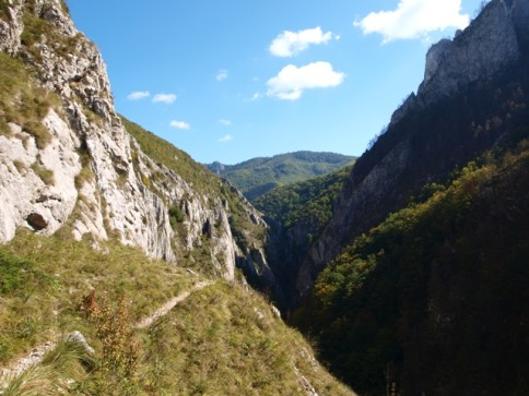 Alba County is rich in mountain trails, caves and landscapes