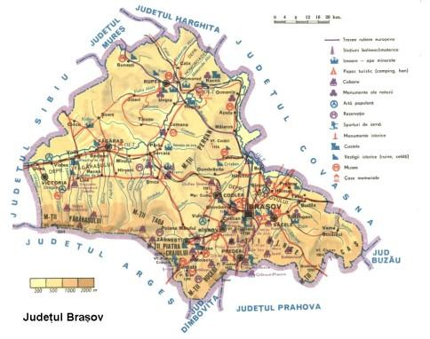Brasov Map
