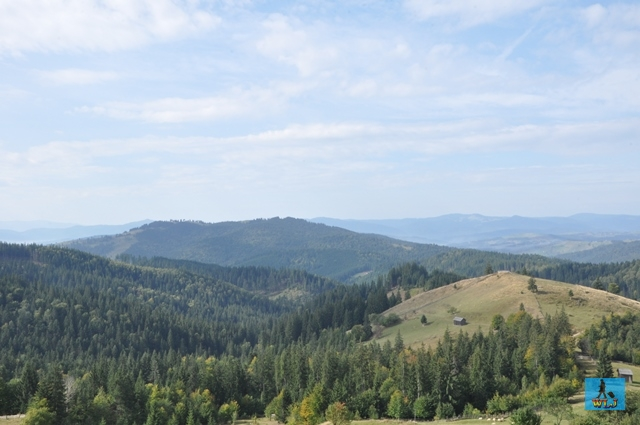 Splendid scenery meet you everywhere in Bucovina's Obcines, Bucovina Region