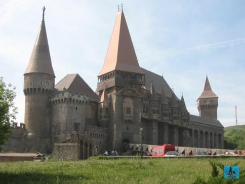 Huniazilor or Corvinilor Castle from Hunedoara City, Hunedoara County
