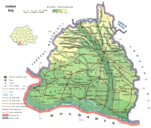 Dolj Map