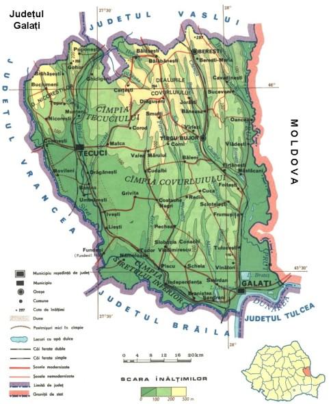 Galati Map