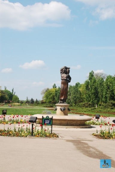 One of the most beautiful parks, Herastrau Park from Bucharest