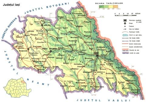Iasi Map