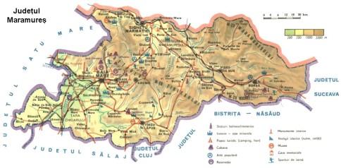 Maramures Map