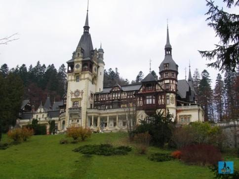 Peles Castle in Prahova County, Romania