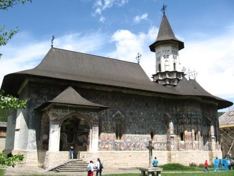 Sucevita Monastery, in Bucovina, Romania World Journeys