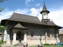 Sucevita Monastery, in Bucovina, Romania