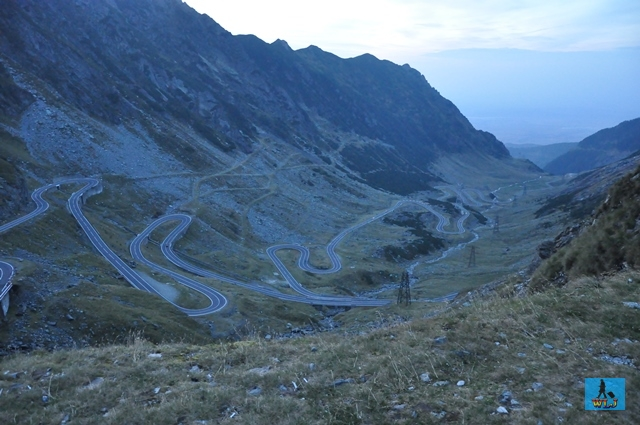 Transfagarasan Road crosses Fagaras Mountains of a rare beauty, Arges County