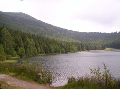 Saint Ana volcanic lake unique in Romania, Covasna County