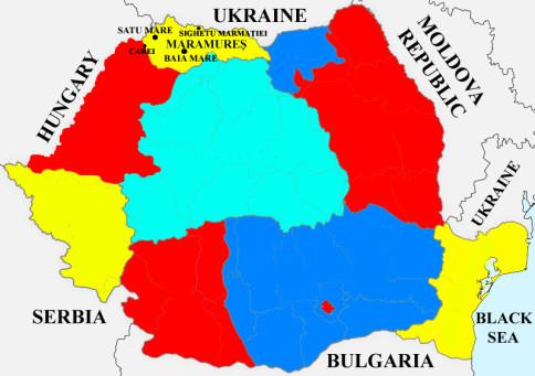 maramures region map
