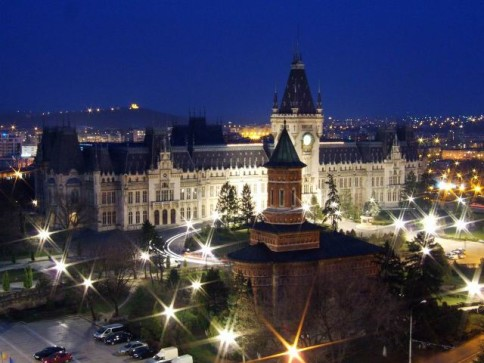 The Palace of Culture from Iasi City, Iasi County