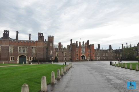 Hampton Court Palace in Greater London, United Kingdom