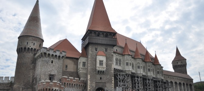 Corvinilor Castle is a Transylvanian pearl and Romanian landmark
