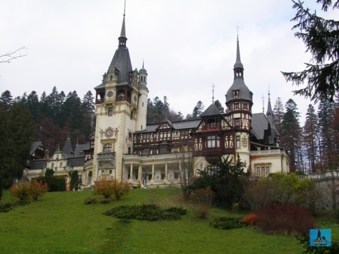 Peleș Castle is one of the most beautiful landmarks of Romania, Prahova County