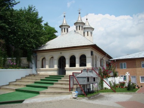 Clocociov Monastery from Corabia is situated in a picturesque region, Olt County