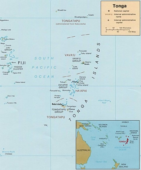 Tonga has a developed tourism and dozens of places for tourists sciox Images