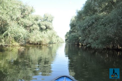 Navigating through the channels labyrinth from Danube Delta
