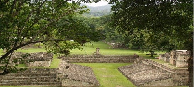 Mayan ruins from Copan are a nice archaeological site to see in Honduras