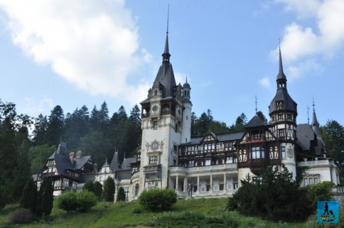 Charming Peles Castle is waiting for your visit