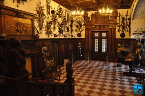The Armory Hall of Peles Castle has more than 4000 pieces