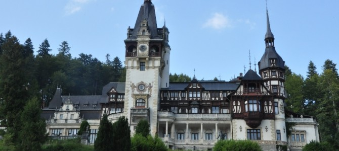 Peles Castle is truly called the Carpathian Pearl, a magnificent palace in Sinaia