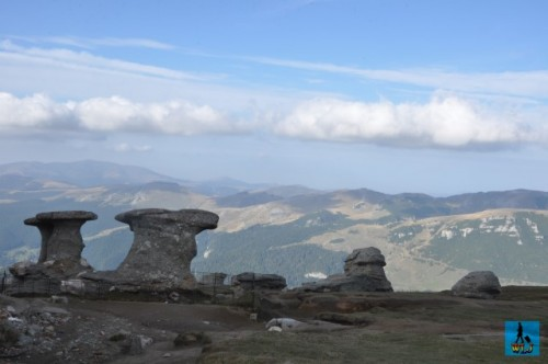 """Beautiful landscapes and """"Babele"""" rock formations are found in Bucegi Natural Park"""