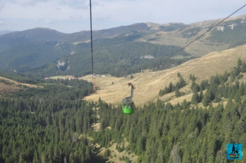 The easiest access to get in Bucegi Natural Park is by cable car