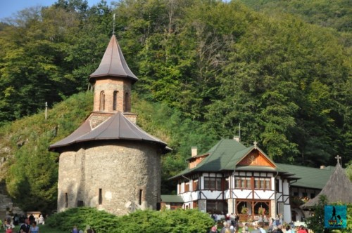 The beautiful and peaceful Prislop Monastery is built in a splendid natural area