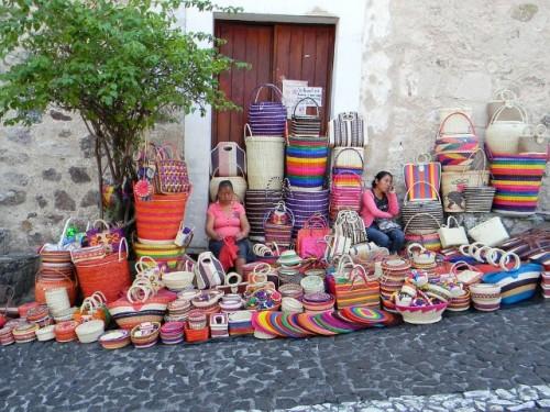 get a job and travel street vendor