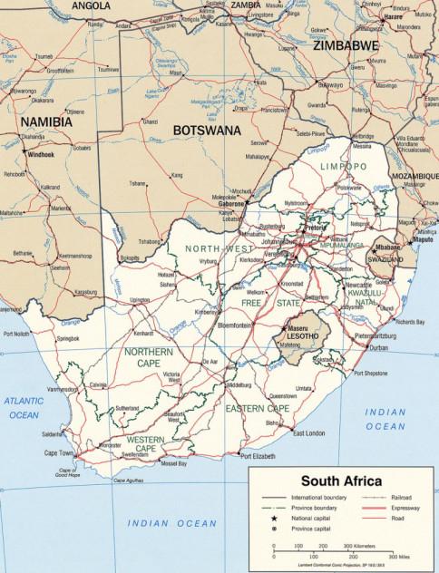 Africa De Sud Este O ţară Puternică Bine Cunoscută In Lume