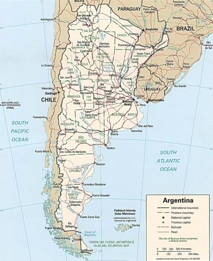 Argentina Has A Beautiful Capital And The Amazing Iguacu Falls
