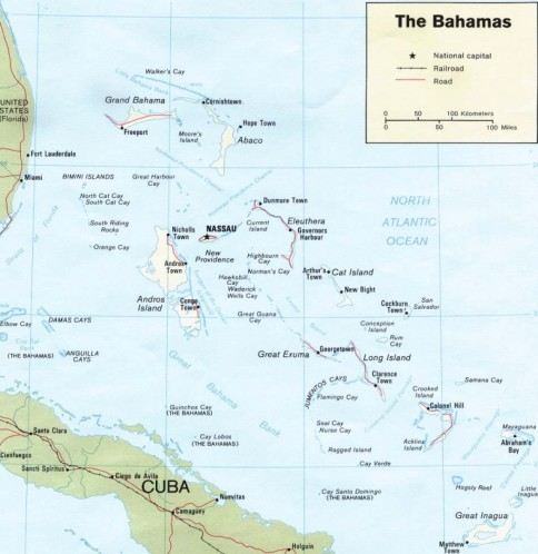 Bahamas Is The Closest Archipelago To North America