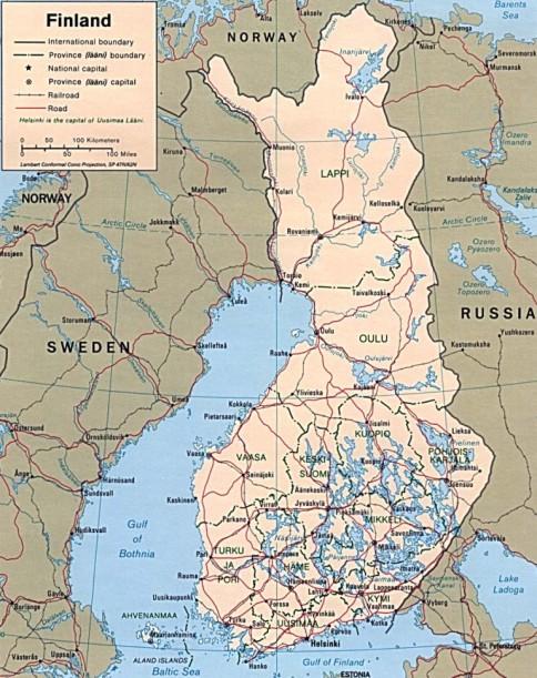 Finlanda Are Peste 180 000 De Lacuri și Teritorii Inghețate