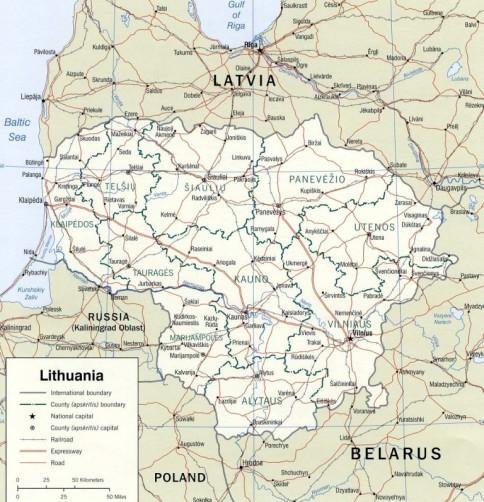 Lituania Are Cinci Parcuri Naţionale Unice Si Patru Rezervaţii