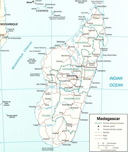 Unicul Madagascar Este A Patra Insulă Ca Mărime Din Lume