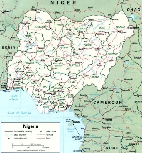 Nigeria Este Cea Mai Populată ţară Din Africa