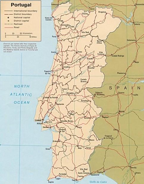 Portugalia Are Arhipelagurile Insulelor Azore Si Madeira