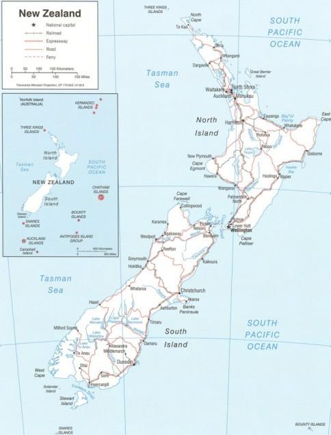 Frumoasa Noua Zeelandă Este Patria Mamă A Populaţiei Maori